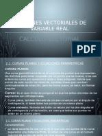 Calculo Vectoria - Funciones Vectoriales de Variable Real