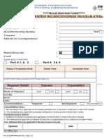 CWI Registration Form