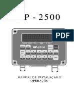 Manual Jundiaí SP-2500N