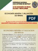 Economia Minera y Valuacion de Minas