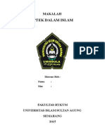 Iptek Dalam Islam