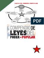 Compendio Del Leyes Del Poder Popular