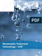 Waste Water Treatment Technology-AOP