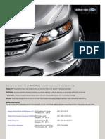 2010 Taurus Brochure