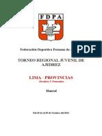 Torneo Juvenil Regional de Lima Provincias