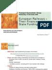European Railways –Their Finances andState Funding