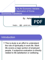 Spirituality Economics