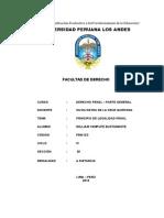 Tarea 2 - Derecho Penal Parte General