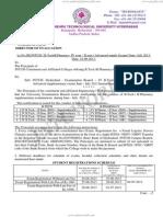 B.tech B.pharmacy IV II AdvSupple Notification June2013