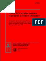 manual de sistemas de gestión laboratororio