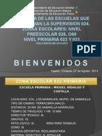 BITACORA DE LAS ESCUELAS. 023 PRIMARIA 14-15 SERGIO...pptx