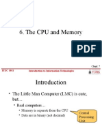 The CPU And Memory