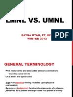 Lmnl vs Umnl