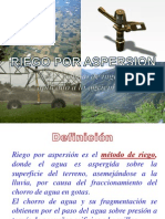 04.- Criterios de Diseño Para Riego Por Aspersion
