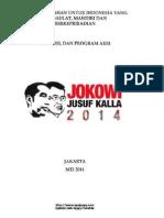Visi Dan Misi Jokowi Jk