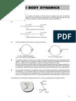 Rigid Body Dynamics & Rotation