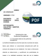 Ahorro de Energia Calixtro Santos Tenorio