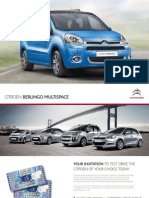 Citroen Berlingo Brochure