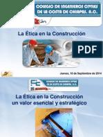 La Etica en La Construccion