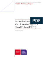 An Institutional History of the LTTE