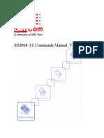 SIMCom SIM968 AT Command Manual 1.00