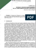 Etapas y Rasgos Definidores de La Industrializacion Espanola
