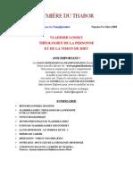 Bulletin Lumiere du Thabor No. 9, mars 2003.