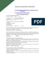 Banco de Preguntas Concurso Contrato Docente 2014