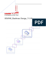 SIMCom SIM908 Hardware Design 1.00