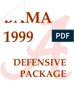 Alabama 4-3 Defense