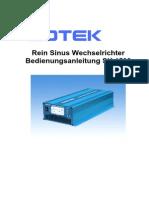 COTEK Wechselrichter SK1500