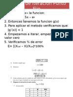 C1. Ecuaciones No Lineales