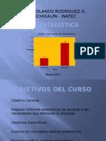 Presentacion Curso de Estadistica