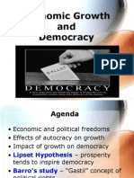 GEK1018 - ToPIC 4 - Economic Growth and Democracy - SEMESTER II_ 20142015