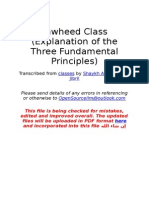 Explanation of the Three Fundamental Principles
