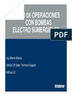 Bombas Electrosumergibles - Switchboards y Transformadores