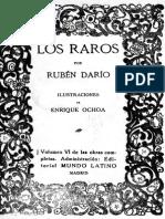 Darío, R. - E. A. Poe Los raros