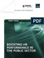 Boosting HR Performance in the Public Sector