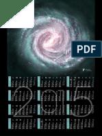 Calendar 2015 SF Milky Way