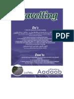24- Aadaab V2 the Aadaab of Travelling