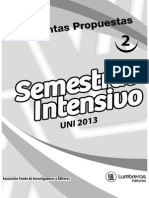 semestral intensivo UNI 2013