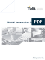 Telit Jupiter SE868V2 Hardware User Guide r2
