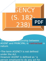 Agency,contracts