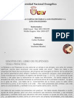 Cartas a Los Filipenses