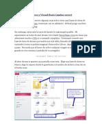 Access y Visual Basic2010