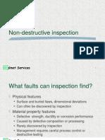 Non Destructive Inspection
