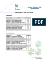Mejores Diez Promedios 2014