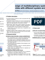 Nathaniel Price - Onera Research Poster, February 2015