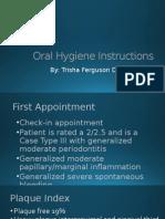 oral hygiene instructionspp