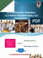 6. La Civilización Romana - La Roma Republicana